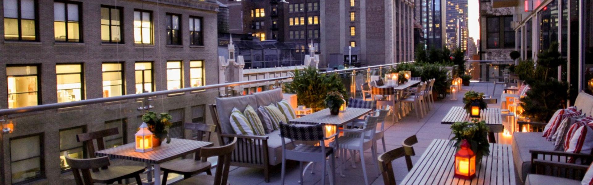 Mondrian Terrace NYC restaurant
