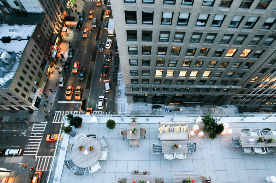 Amny Features Mondrian Terrace In Rooftop Bars And