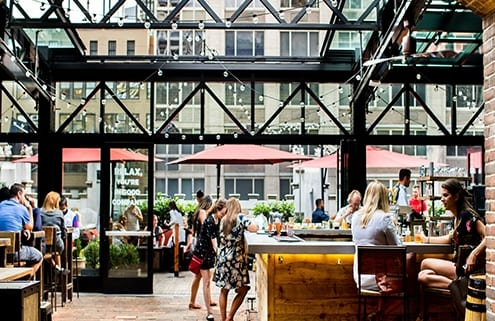Do NYC Features Refinery Rooftop in Babes, Booze & Brunch