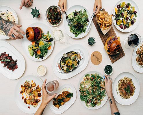Overhead food shot | The Wilson