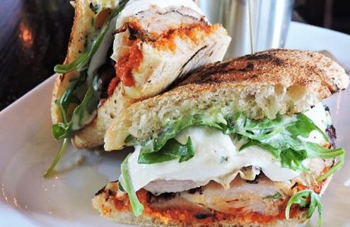 Sandwich at Park Avenue Tavern