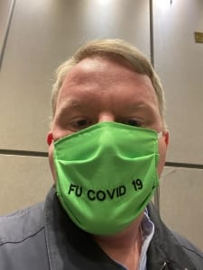 Male in Mask during COVID-19 Pandemic