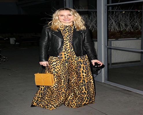 Got Celeb Features The Wilson in Kristen Bell – Arrives at The Wilson in New York City
