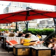 Eventbrite Features Refinery Rooftop in NYCountry Swag Presents: Babes, Booze