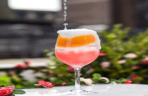 Mondrian Terrace Cocktail