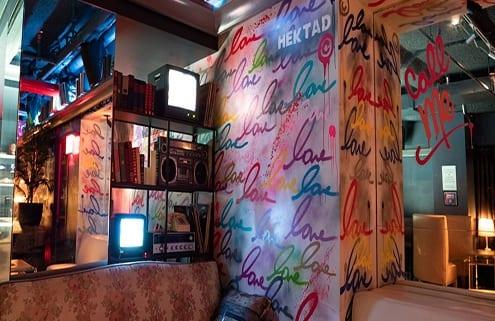 Boogie Room Graffiti