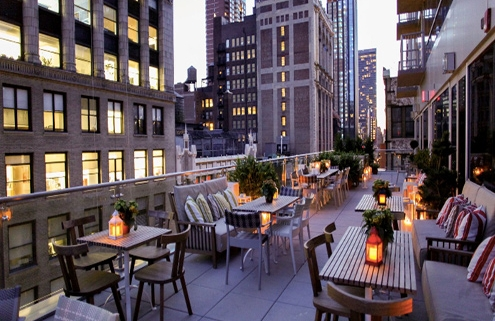 Off The Mrkt Features Mondrian Terrace In The Best Rooftop