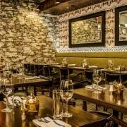 Dining room at Trademark Taste + Grind