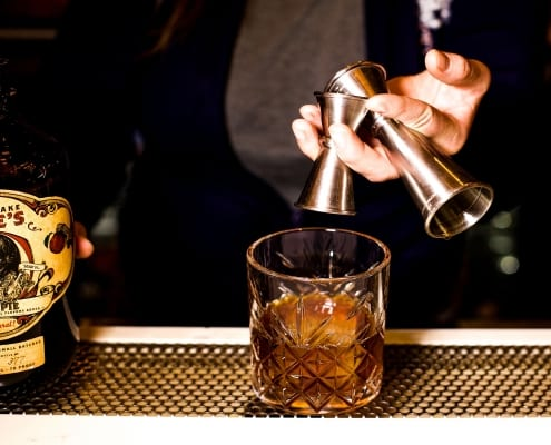 Mandatory Features Trademark Taste + Grind in The Best Whiskey Cocktails For Winter Drinking