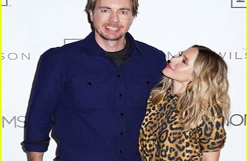 Just Jared Features The Wilson In Kristen Bell Dax Shepard Couple Up For Hello Bello Launch Igc Hospitality