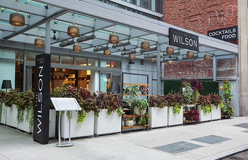 The Wilson Patio