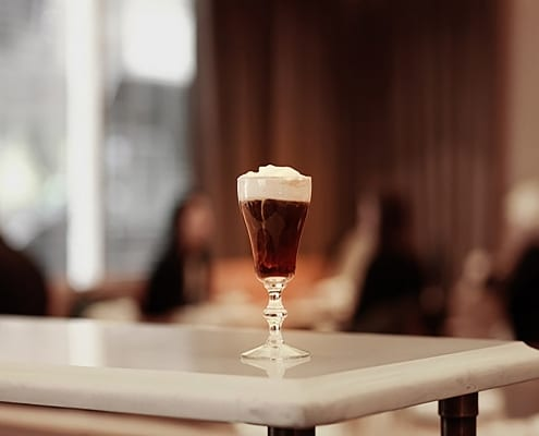 Thirsty features Cleo in Where to Celebrate Irish Coffee Day in NYC
