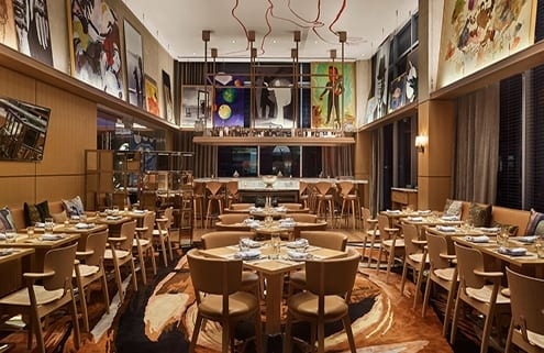 Dinning room at Cleo